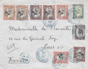 Äthiopien: 1905: Brief nach Frankreich/Paris