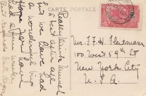 Äthiopien: 1926: Ansichtskarte Djibouti, Le Bébarcadére nach USA