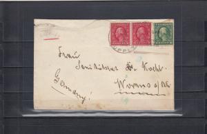 Karolinen 1915: Geschwader Spee, an Bord Supply nach Worms