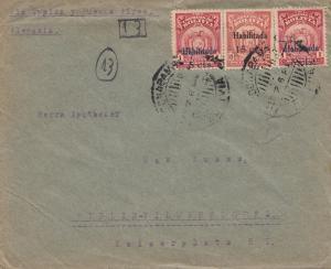 Bolivia/Bolivien: Cochabamba via Buenos Aires 1924 to Berlin/Germany
