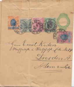 Brazil:  1908: Rio de Janeiro to Dresden