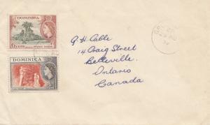Dominica: 1959: letter to Canada