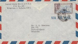 Barbados: Leeward Islands Mission of S.D.A 1950 to Trinidad