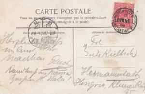 Levant: post card 1909 - Bosphore