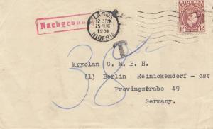 Nigeria: 1951: Lagos to Berlin