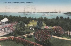 Bermuda: Hamilton picture post card 1936 to USA Seymour
