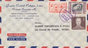 Costa Rica: 1965: San Jose to La Chaux de Fonds