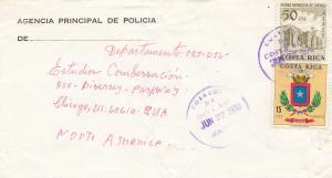 Costa Rica: 1970: Agencia Principal de Policia to Chicago
