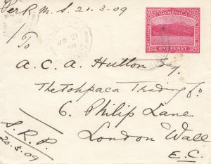 Domenikanische Republik: 1909: letter to London