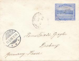 Domenikanische Republik: letter to Dieburg 1909
