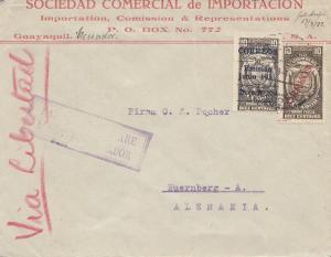 Ecuador: 1933: Gayaquil to Nürnberg