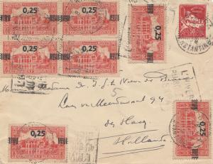 French colonies Algerie letter to Den Haag/Holland