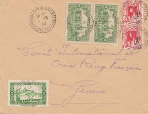 French colonies: Algerie 1940: Constantine to Croix Rouge-Genf