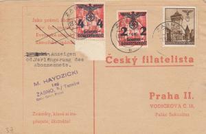 GG: Postkarte Zabno, TArnow nach Prag