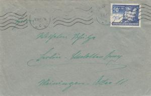 GG: EF der 50Gr. WHW Marke nach Berlin Charlottenburg