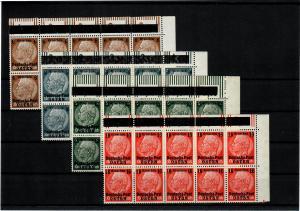 Generalgouvernement GG: MiNr. 1-13, 10er Block, Eckrand rechts oben, selten