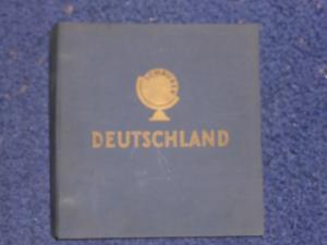 Schaubeck Album, Deutschland, groß, dick, schwer, noch wenige Marken enthalten