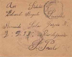 Angola: 1915 Expedigao Militar to Sao Paolo