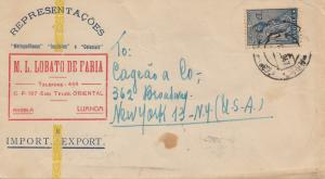 Angola: Luanda 1947 to New York