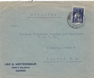 Acores Ponta Delgada to Berlin
