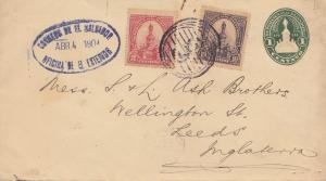 El Salvador 1904: letter to Leeds
