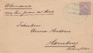 El Salvador 1898: Managua to Hamburg