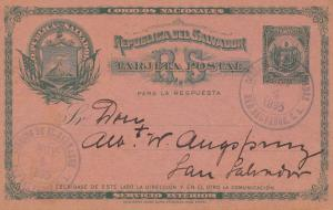 El Salvador 1895 San Salvador