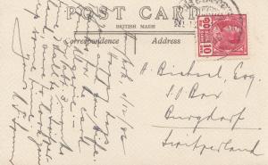 Thailand 1936: post card Bangkok to Burgdorf