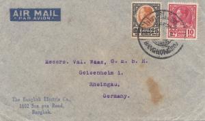 Thailand air mail Bangkok to Geisenheim/Rheingau