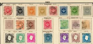 Angola 1870-1911 complete collection incl. Porto-stamps */o