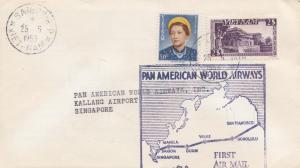 Vietnam 1953: Saigon to Singapore, PAN American World Airways
