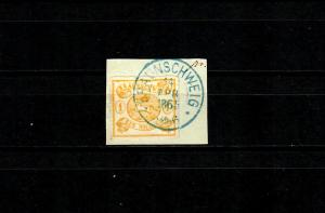 Braunschweig: MiNr. 14 A, gestempelt 1865, BPP Signatur