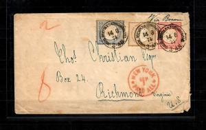 Deutsche Post in der Türkei: 1872 Vorläufer Ganzsachenumschlag, nur 4x bekannt