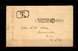 Marshall-Inseln 1890 Vorläufer Missionar aus Kusaie/Karolinen - Janesville USA