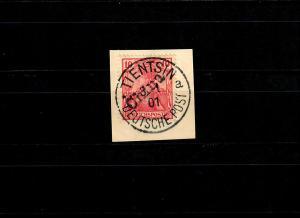 Dt. Post in China: MiNr. 10, Tientsin 1901 gestempelt, BPP Attest