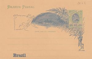 Brasil: post card; cart a bilhete