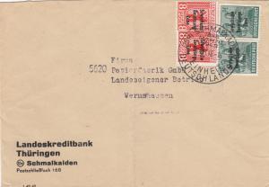 SBZ: 1948 Schmalkalden nach Wernshausen