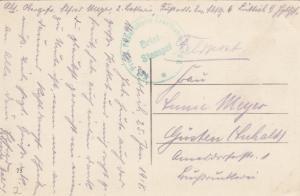 2x Ansichtskarte Antwerpen und Liege,Feldpost Landsturm Inf. Bat. Straubing 1915