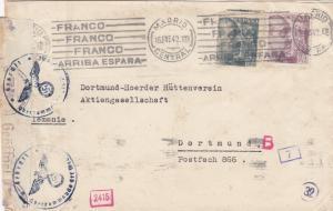 1942: Madrid to Dortmund, censor