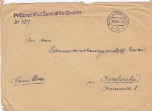 1948: Sumvald u Znojma to Karlsruhe