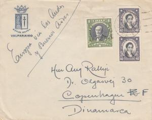 1933: Valparaiso to Copenhagen/Denmark, via Buenos Aires
