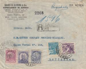 1936: registered Parahyba to Berlin