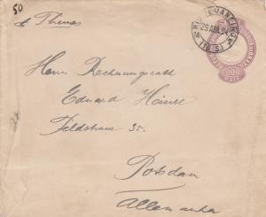 1894: letter Rio de Janeiro to Potsdam/Germany