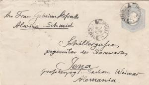 1897: 2x covers Valparaiso/Elipulli to Jena