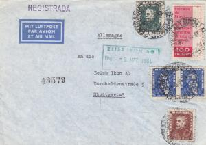 1964: air mail to Stuttgart