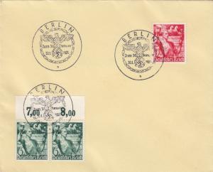 Blanko Sonderstempelbeleg 1938: Berlin: Zum 30. Januar, Deutsches Reich