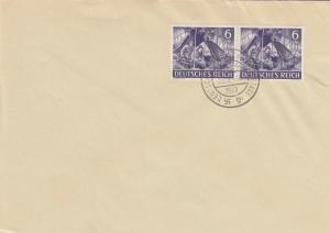 Blanko Sonderstempelbeleg 1943: Deutsches Reich