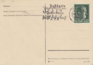 Blanko Sonderstempelbeleg 1939: Köln: Jd. Dienst a.Vaterland stählt unser. Kraft