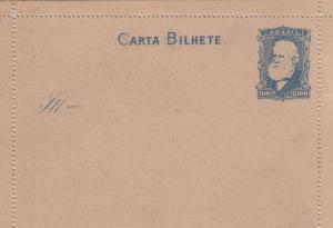 post card unused, Brazil