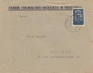 Brief aus Hrastnigg nach Dresden